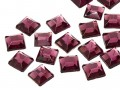 Rhinestones | Gemstones No-Hotfix of Star Bright |  8.0mm, Square, Amethyst