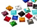 Rhinestones | Gemstones No-Hotfix of Star Bright |  8.0mm, Square, Colormix