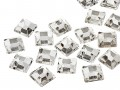 Rhinestones | Gemstones No-Hotfix of Star Bright |  8.0mm, Square, Crystal