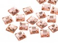 Rhinestones | Gemstones No-Hotfix of Star Bright |  8.0mm, Square, Light Peach