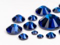Rhinestones Hotfix of Swarovski Elements  (Capri Blue Multi Size Mix)