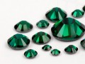 Rhinestones Hotfix of Swarovski Elements  (Emerald Multi Size Mix)