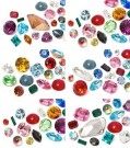 Schmucksteine | Chatons | Halbperlen von Swarovski Elements | 4.0 - 18,0mm, Multi Form Mix