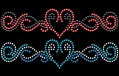 "Self-adhesive Body-Tattoos | Strass-Tattoos for wedding, Carnival, Party ""Nomad"""