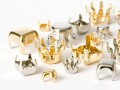 Steinfassungen Mix 2-5mm (silver/gold)