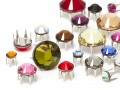 Strasspins of Swarovski Elements | Stainless steel | SS10 (2.8mm) - SS34 (7.2mm), Color Multi Size Mix