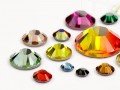 Strasssteine Hotfix von Swarovski Elements   (Color Mega Multi Size Mix), RESTPOSTEN