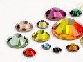 Strasssteine No-Hotfix von Swarovski Elements   (Color Multi Size Mix), RESTPOSTEN