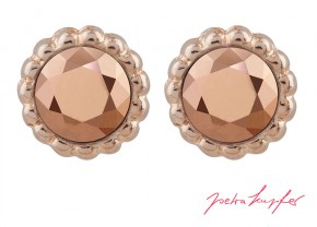 "Stud Earrings ""Sultan"" Rosé Gold with original Swarovski Elements Crystals"
